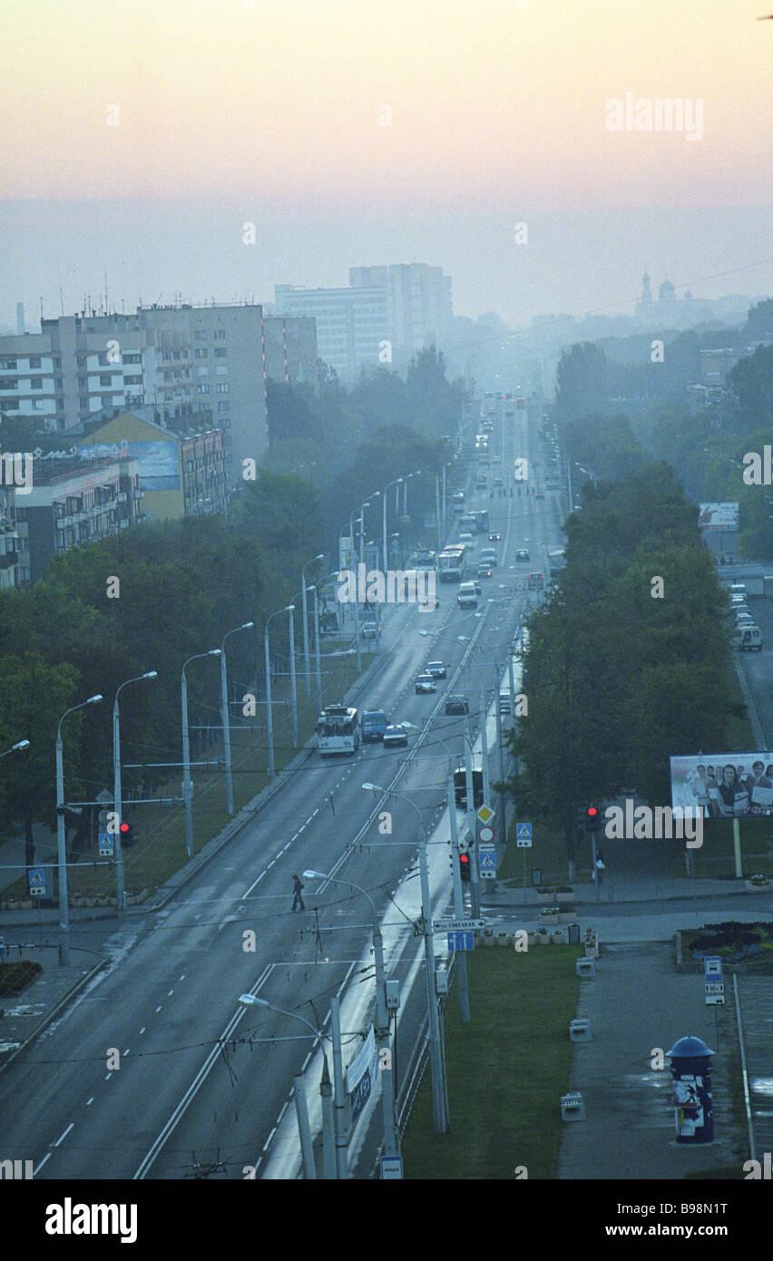 Brest Belarus - Stock Image