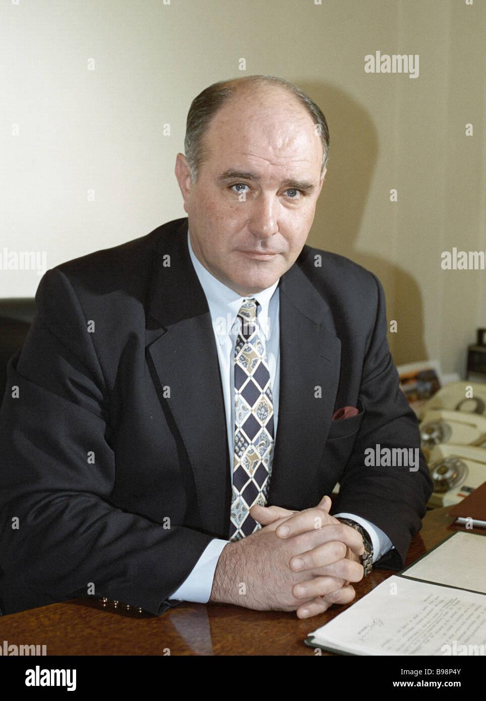 Russian Deputy Foreign Minister Grigory Karasin - Stock Image
