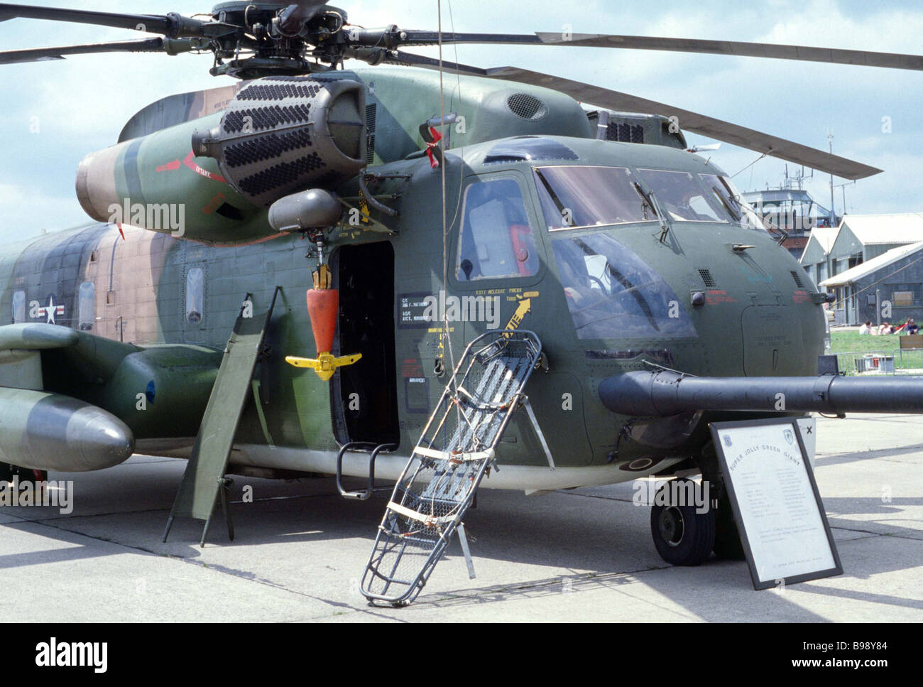 Sikorsky HH-53 Super Jolly Green Giant helicopter - Stock Image