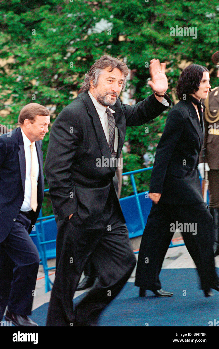 Famous American actor Robert De Niro guest of the 20th Moscow International Film Festival - Stock Image