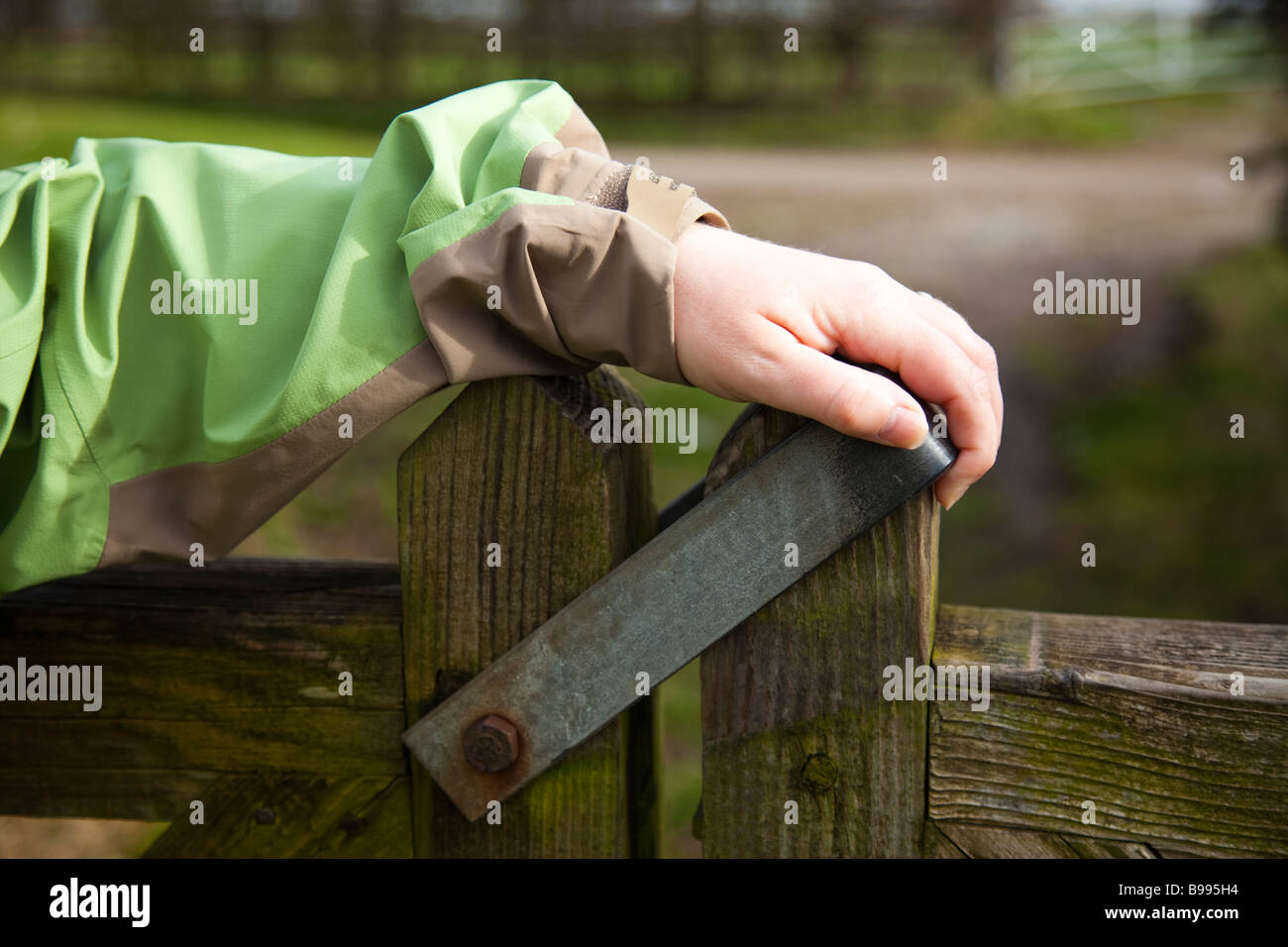 Closing The Gate Stock Photos Amp Closing The Gate Stock