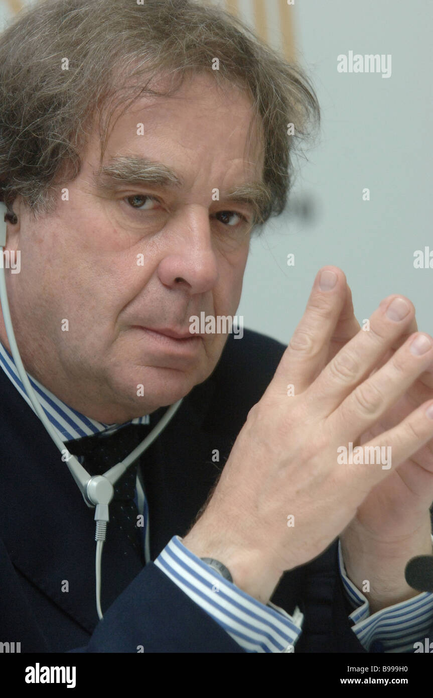 Jean Michel Wilmotte author of the conversion design of the Kremlyovsky Hotel Trading Complex - Stock Image