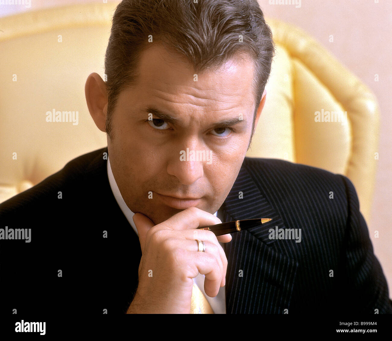 Pavel Astakhov prominent Moscow barrister - Stock Image