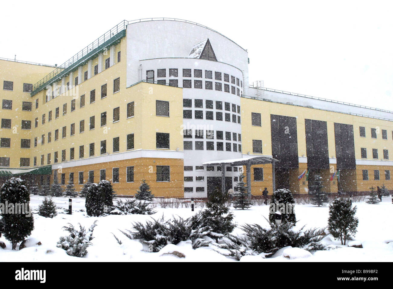 The premises of the Federal Customs Service - Stock Image