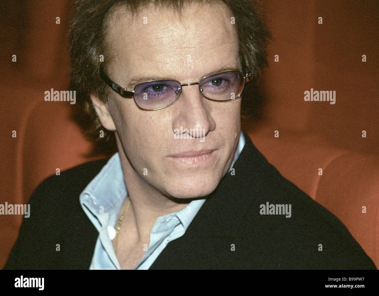Hollywood actor Christopher Lambert attends VI Faces of Love international  film festival