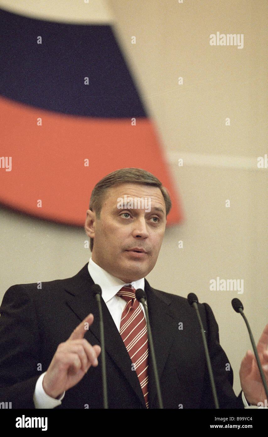 Former State Duma deputy Vasily Shandybin dies 56