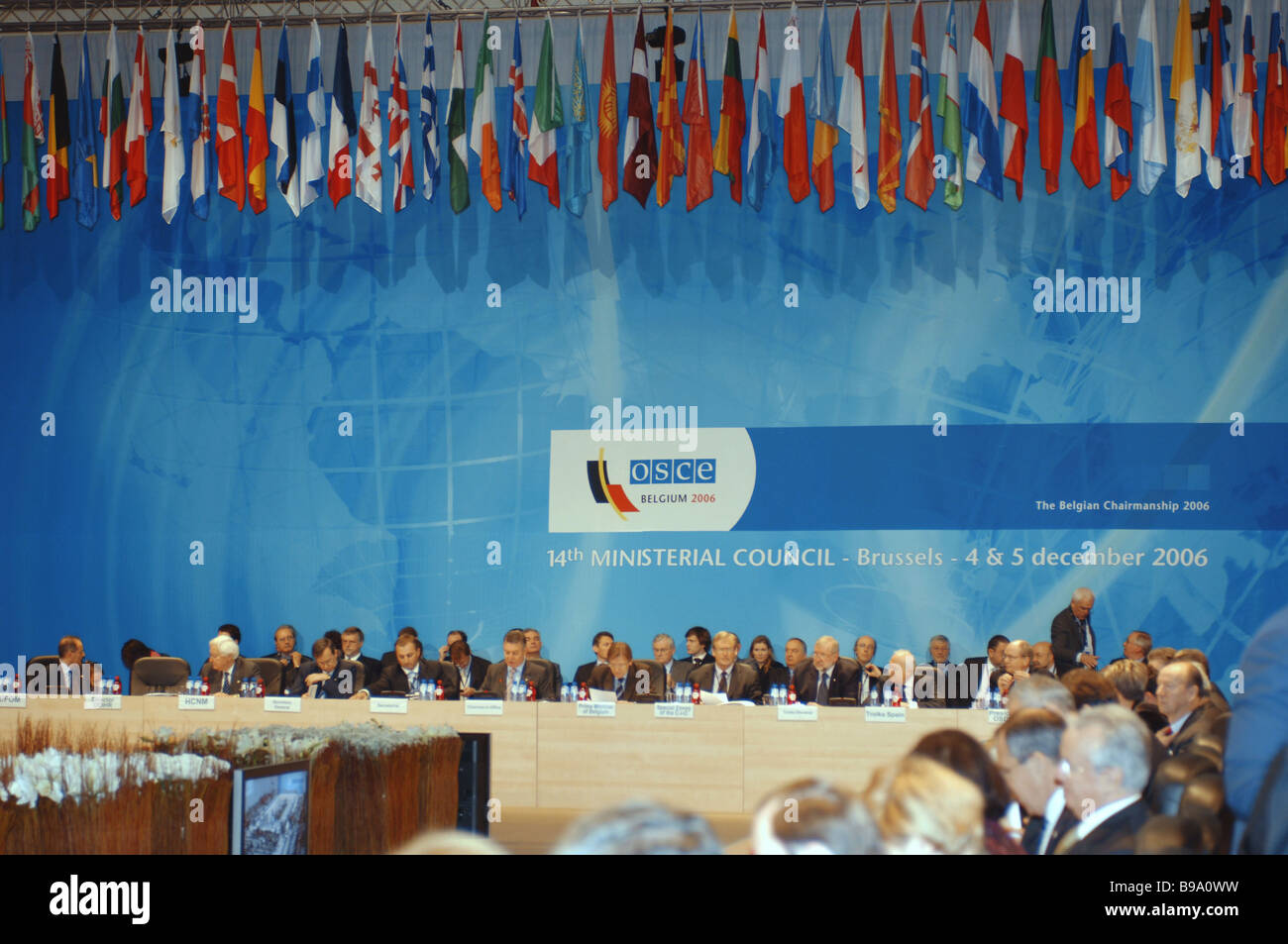 The 14th OSCE Ministerial Council - Stock Image
