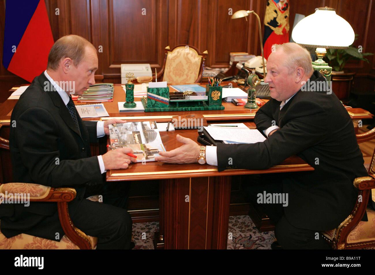 President elects new heads of Karelia, Sverdlovsk and Irkutsk regions 23.05.2012 52