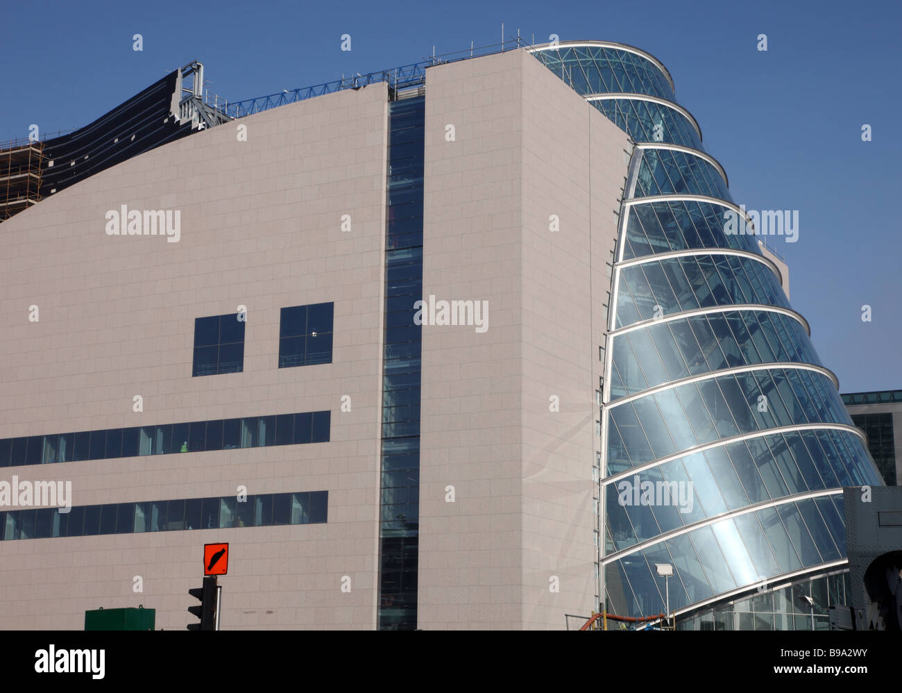 National Conference Centre Dublin Docklands Ireland - Stock Image