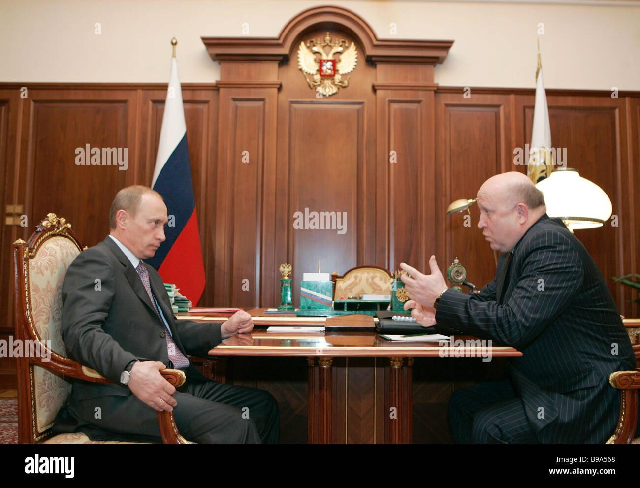 President elects new heads of Karelia, Sverdlovsk and Irkutsk regions 23.05.2012 67