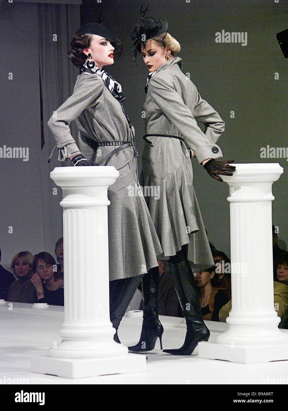 New Collection Pret A Porter 2004 By Russian Fashion Designer Stock Photo Alamy
