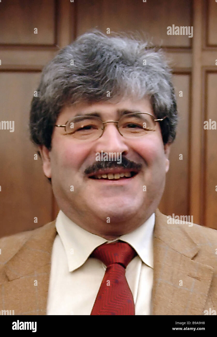 Armen Oganesyan The Voice of Russia radio broadcasting company President - Stock Image
