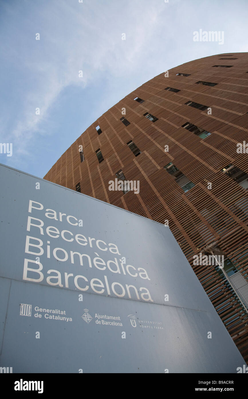 Biomedical Research Park, Barcelona - Stock Image