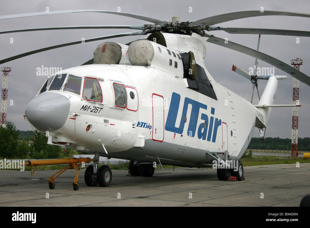 Mil Mi 26 Halo helicopter - Stock Image
