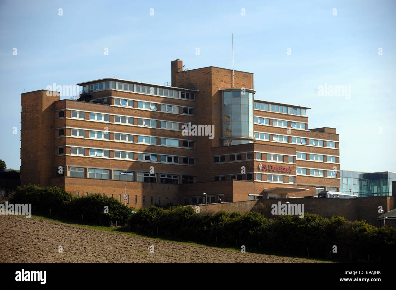 St Dunstan s home for blinded servicemen and women in Sussex UK March 2009 - Stock Image