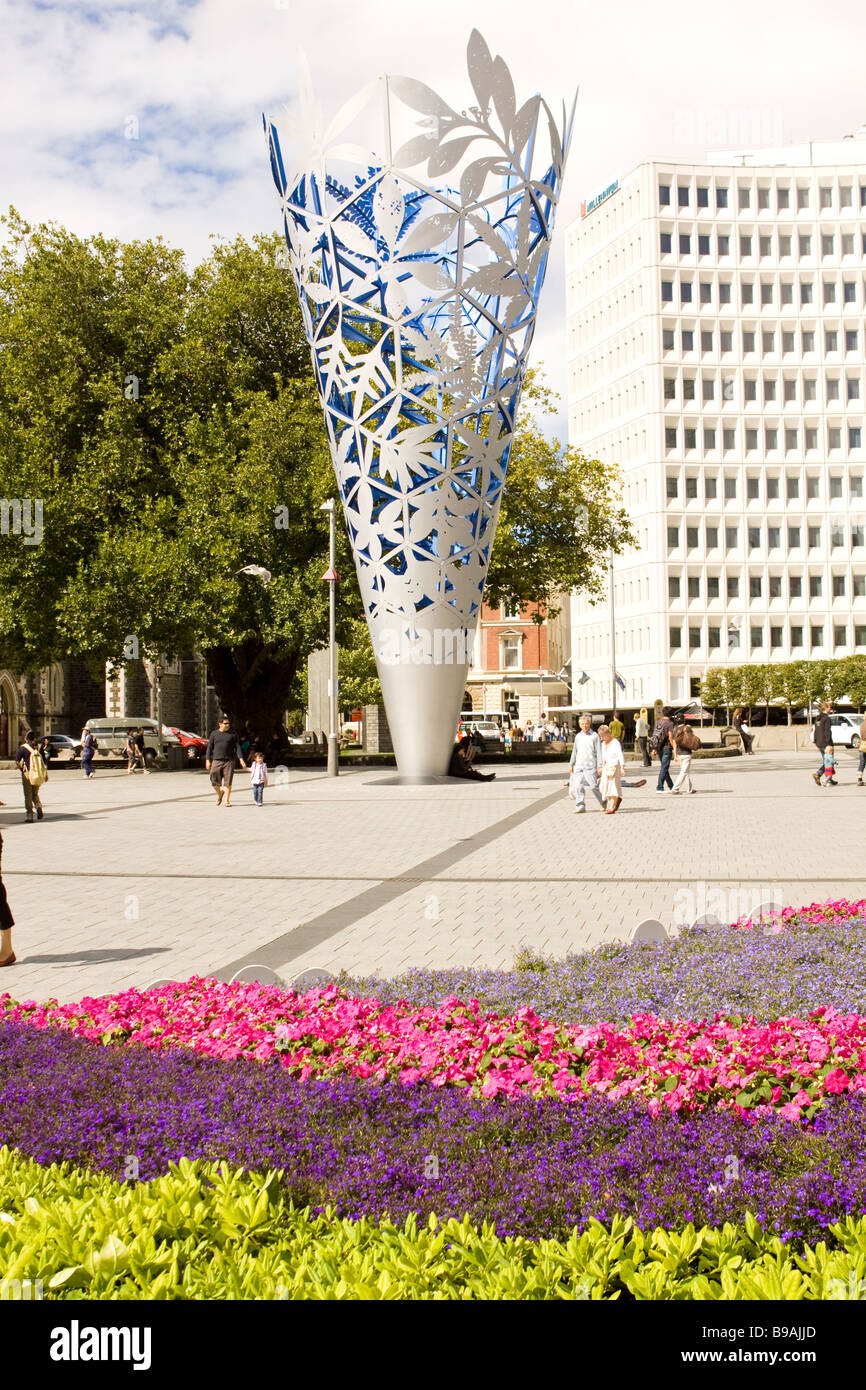 The Chalice Cathedral Square Christchurch New Zealand - Stock Image