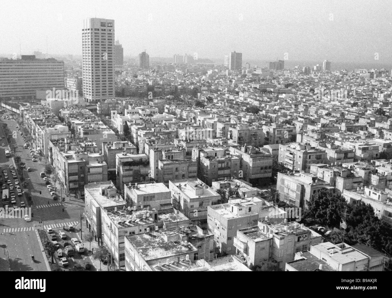 Panorama of Tel Aviv - Stock Image