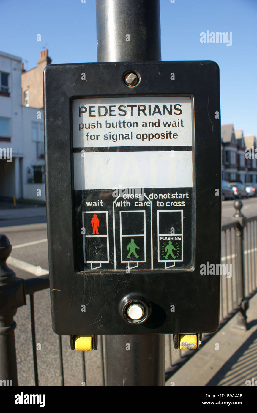 Pedestrian crossing information/control box on the A1 (Archway Road ...