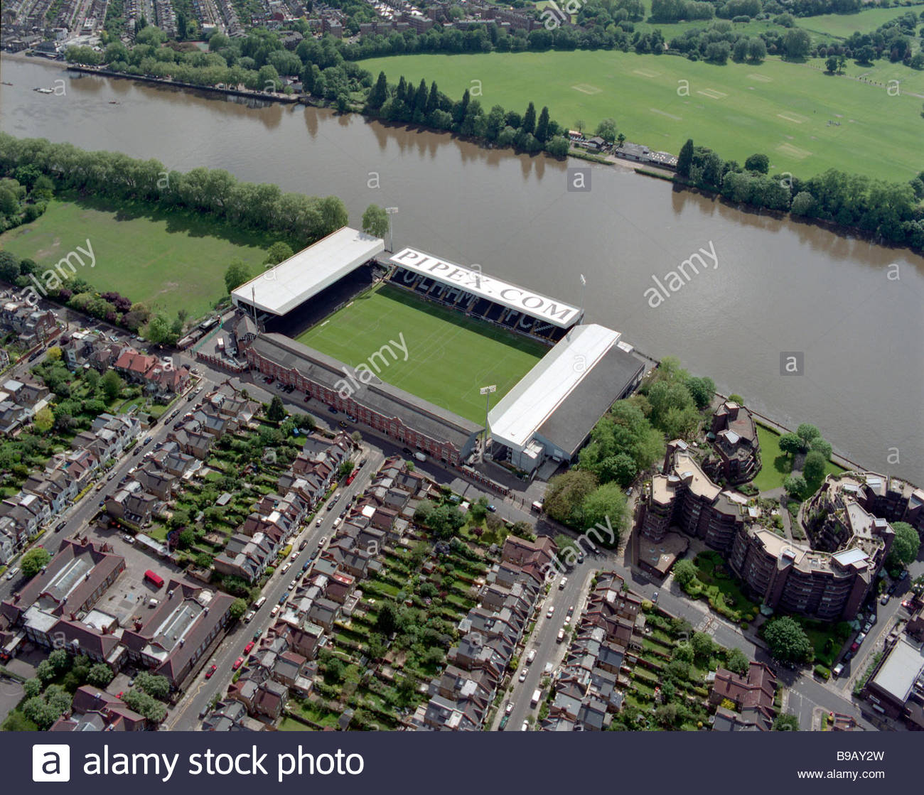 Fulham Stadium High Resolution Stock Photography And Images Alamy