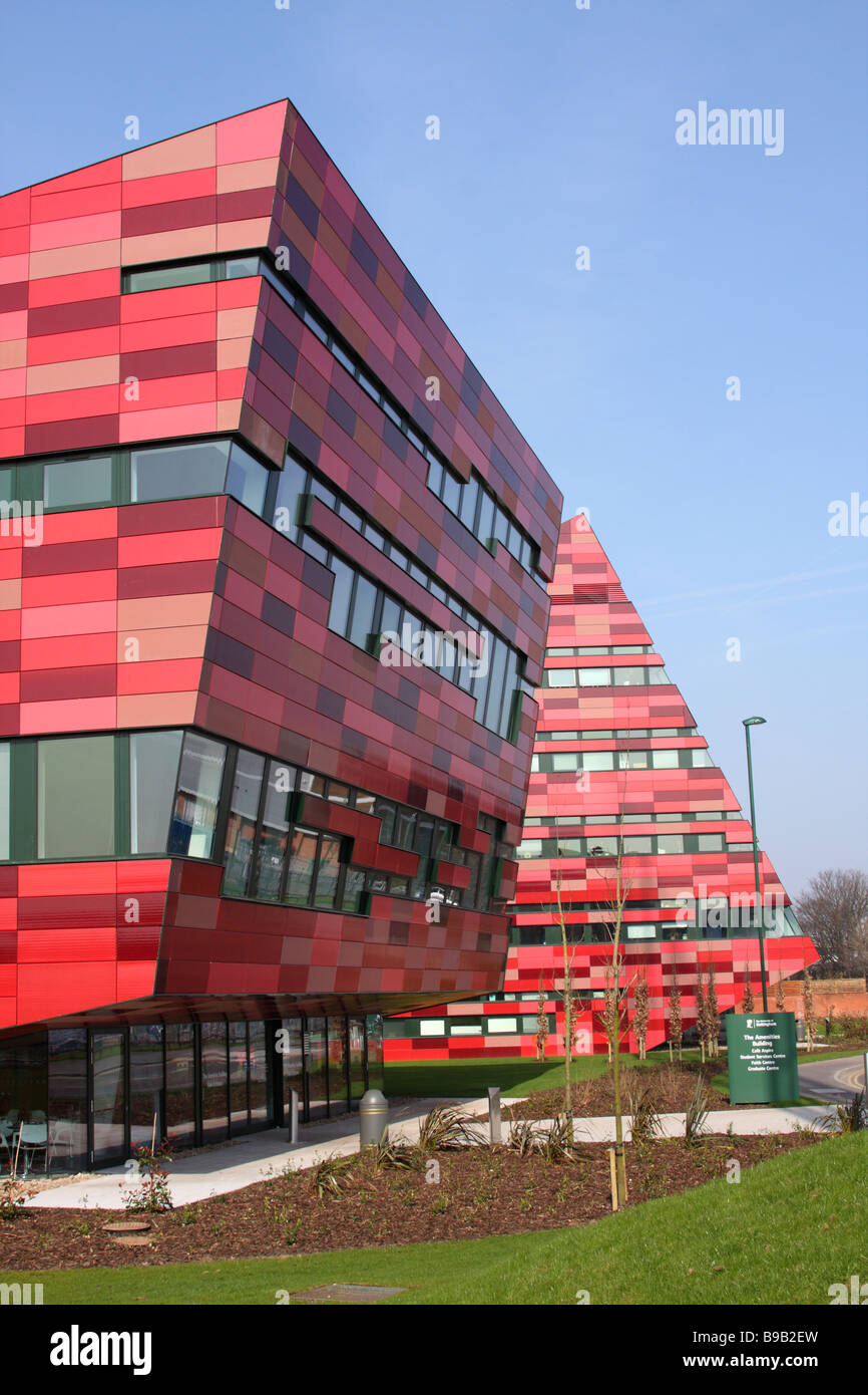 University of Nottingham, Jubilee Campus, Nottingham, England, U.K. - Stock Image
