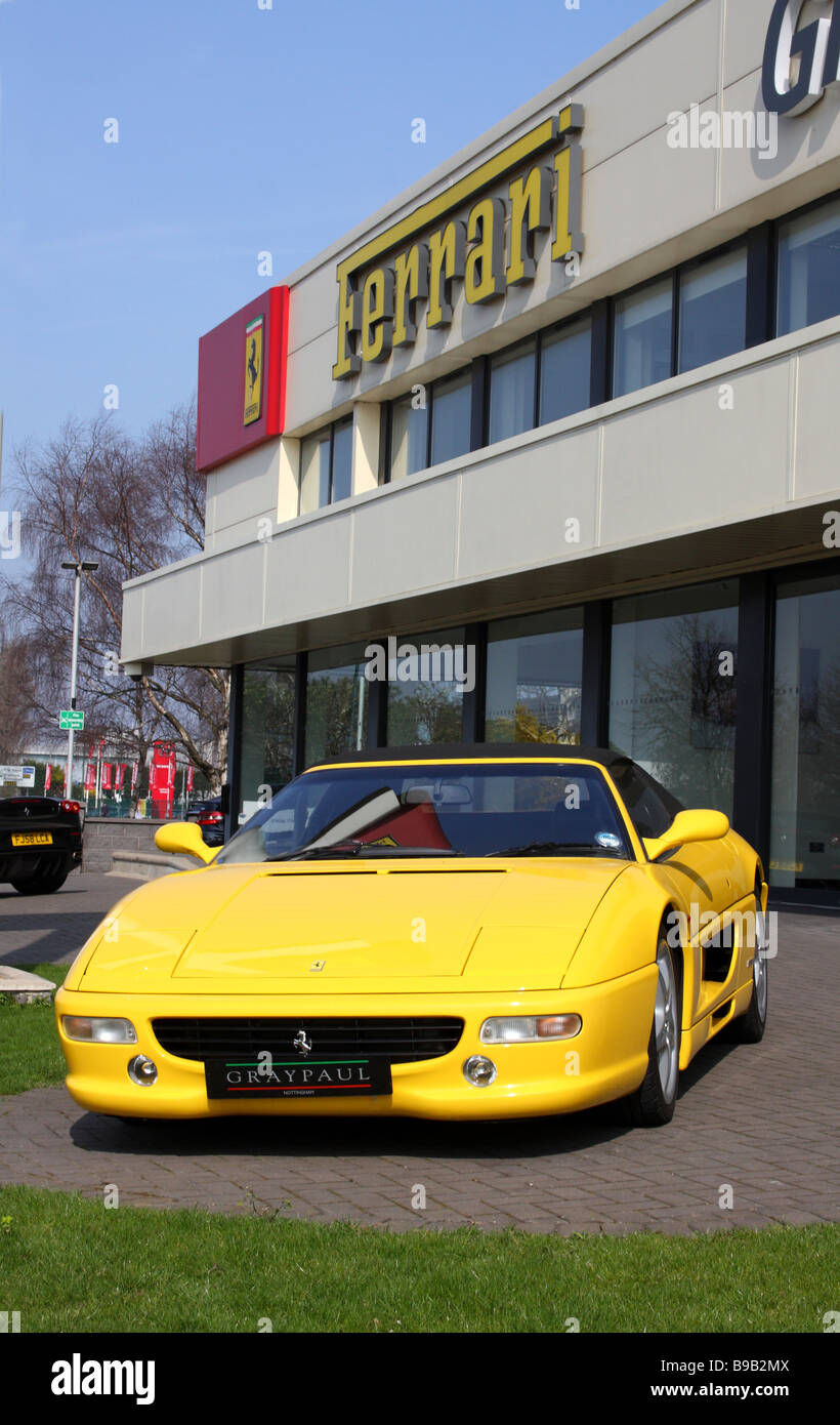 Ferrari Car Showroom High Resolution Stock Photography And Images Alamy