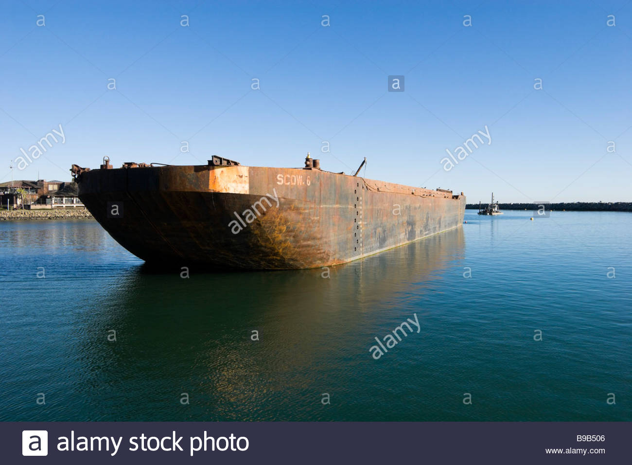 Old Barge Stock Photos and Images