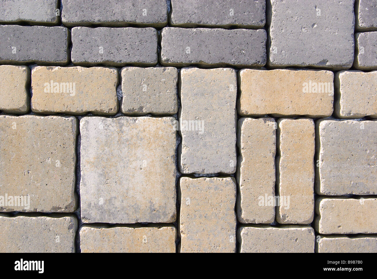 Pflasterstein cobblestone 03 - Stock Image