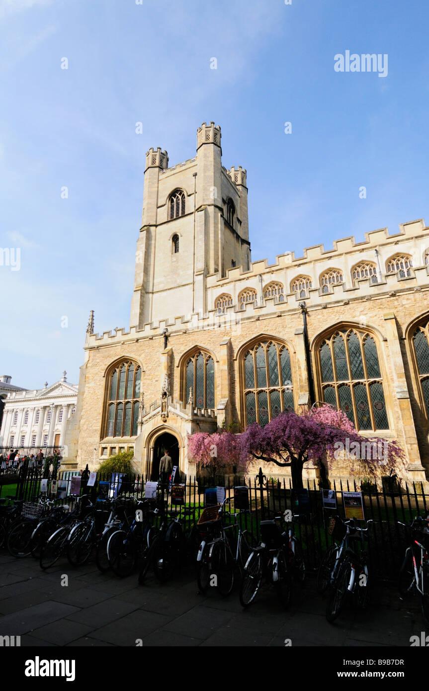 Great St Marys Church Cambridge England UK - Stock Image