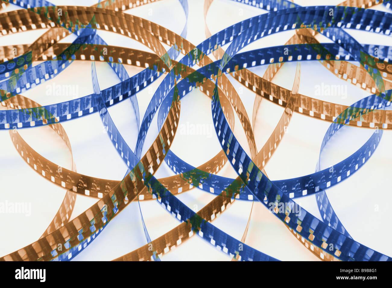 Movie Film - Stock Image