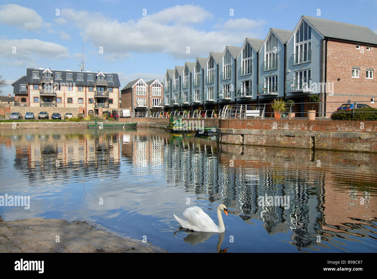 Chichester Canal Basin - Stock Image