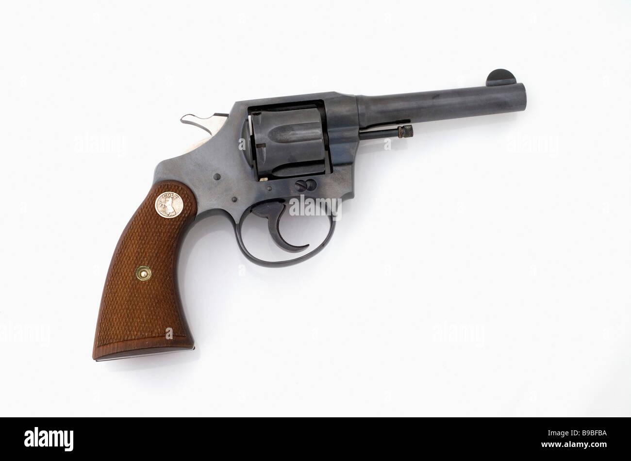 colt revolver handgun stock photo 22995822 alamy