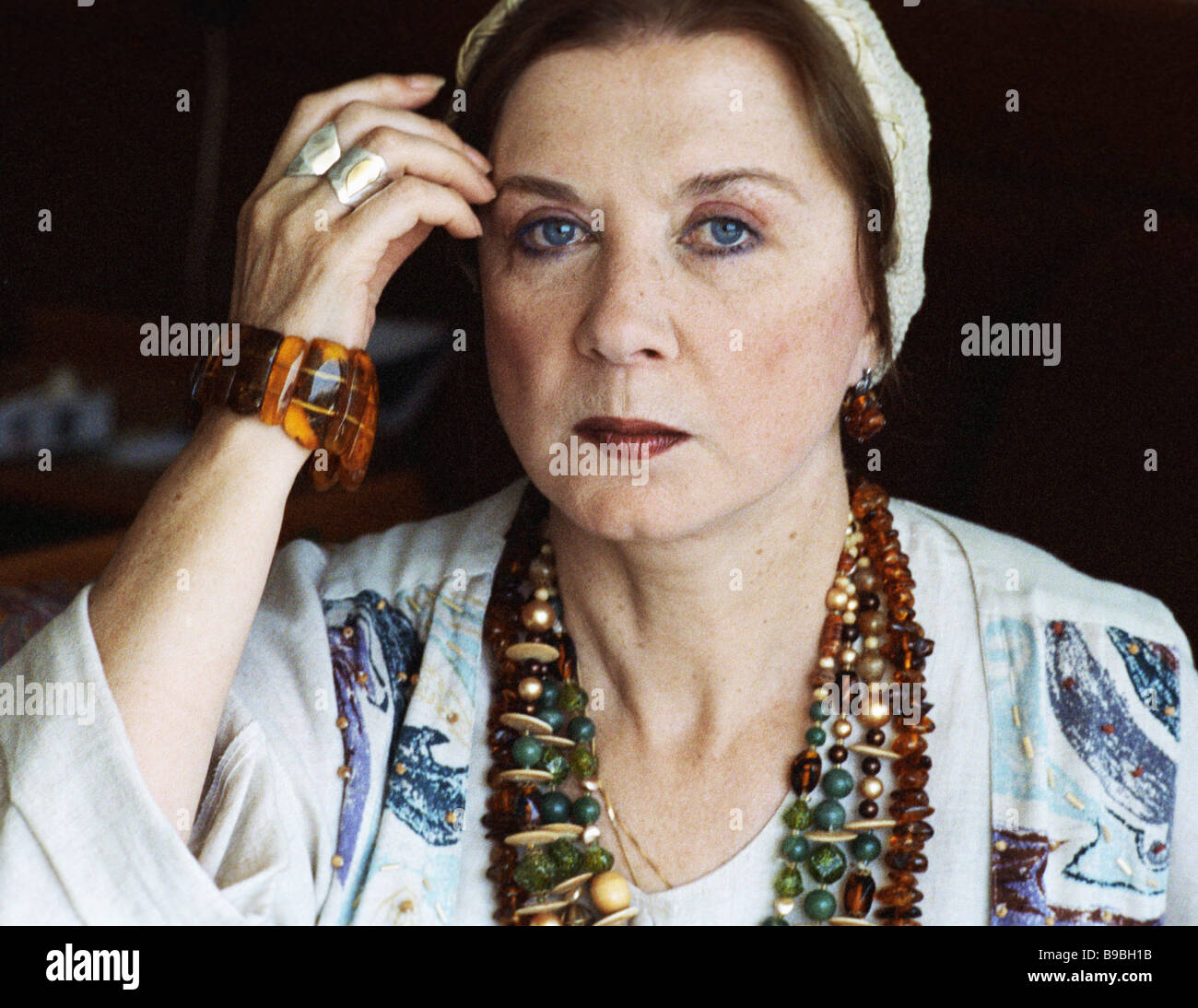 Actress Alla Demidova was admitted to the hospital 03/27/2015 2