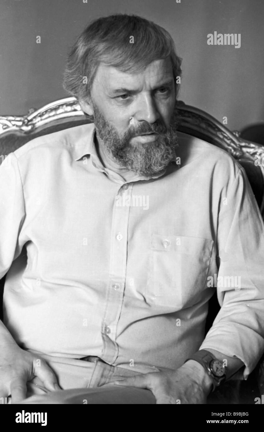 Soviet dramatist Vladimir Arro - Stock Image