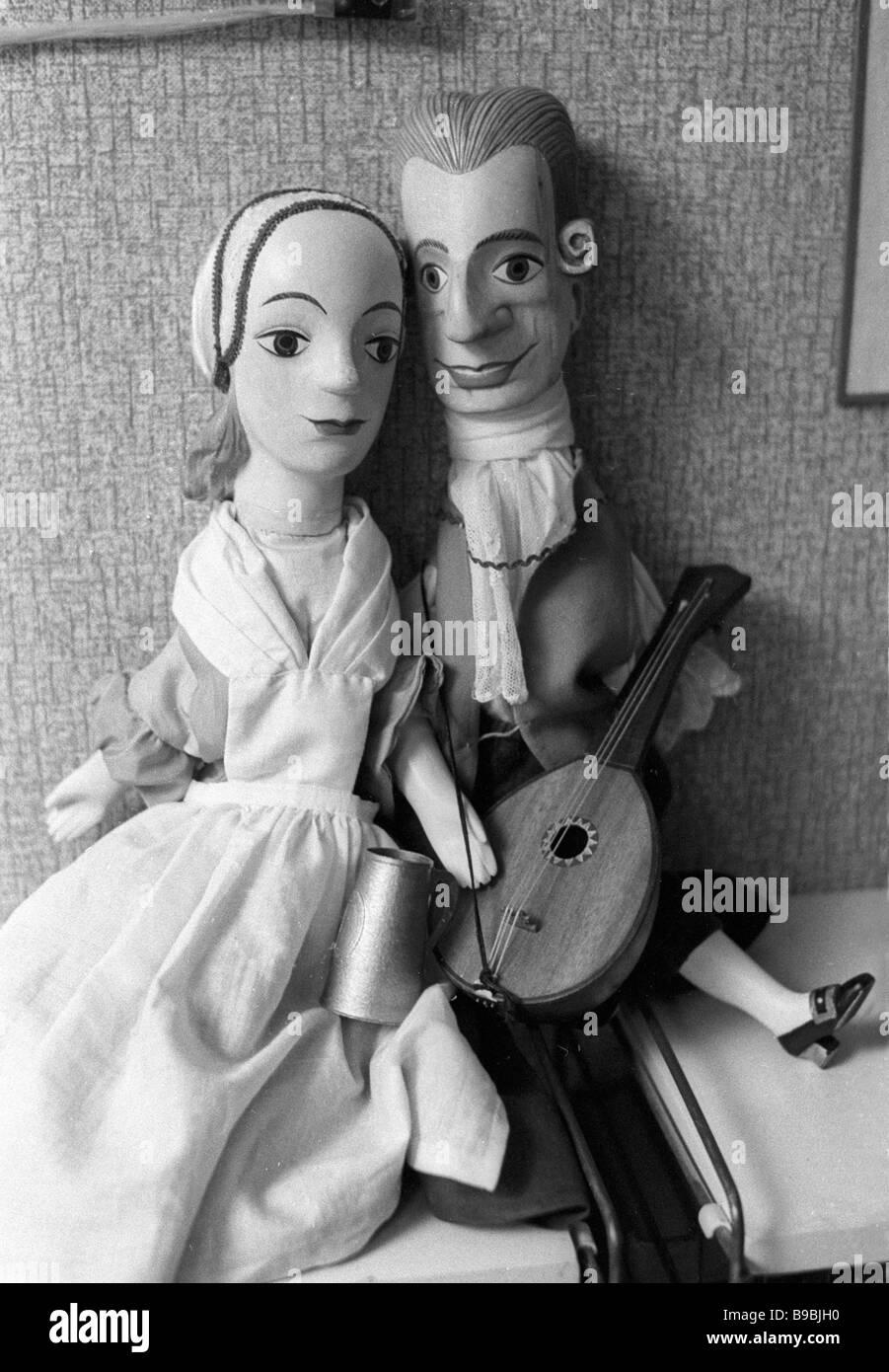 Dolls Modern Art Bellman