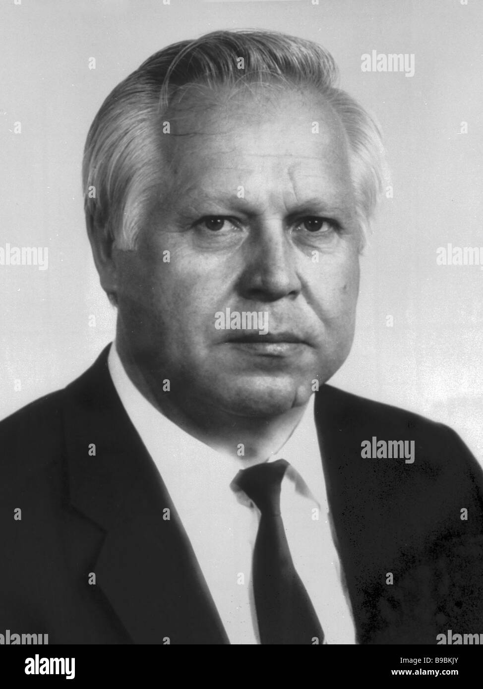 Valentin Kuptsov Secretary of the CPSU CC - Stock Image