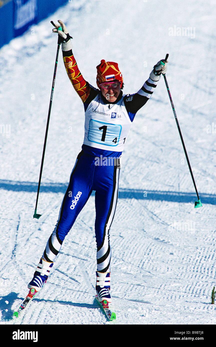 Lyubov Yegorova 9 Olympic medals