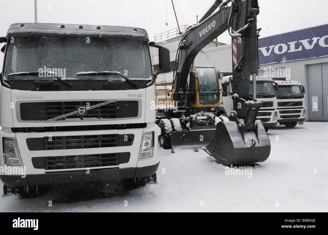 Volvo excavator factory in Kaluga 8