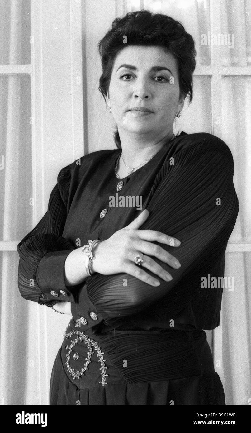 Maria Gulegina former soloist of the Belarussian Opera and Ballet Theatre associated today with Milan s La Scala - Stock Image