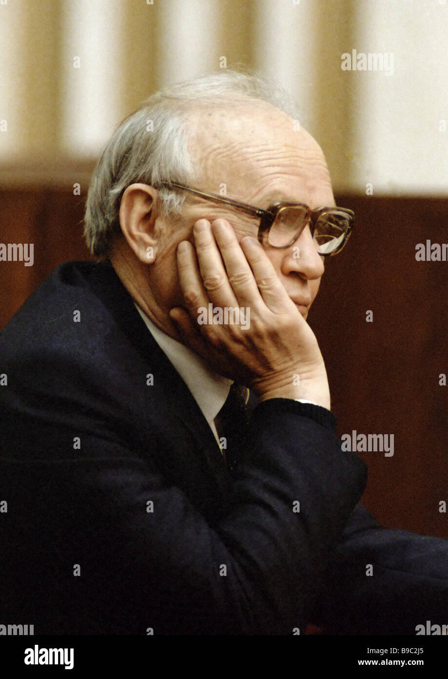 A U S S R KGB Chairman Vladimir Kryuchkov Stock Photo