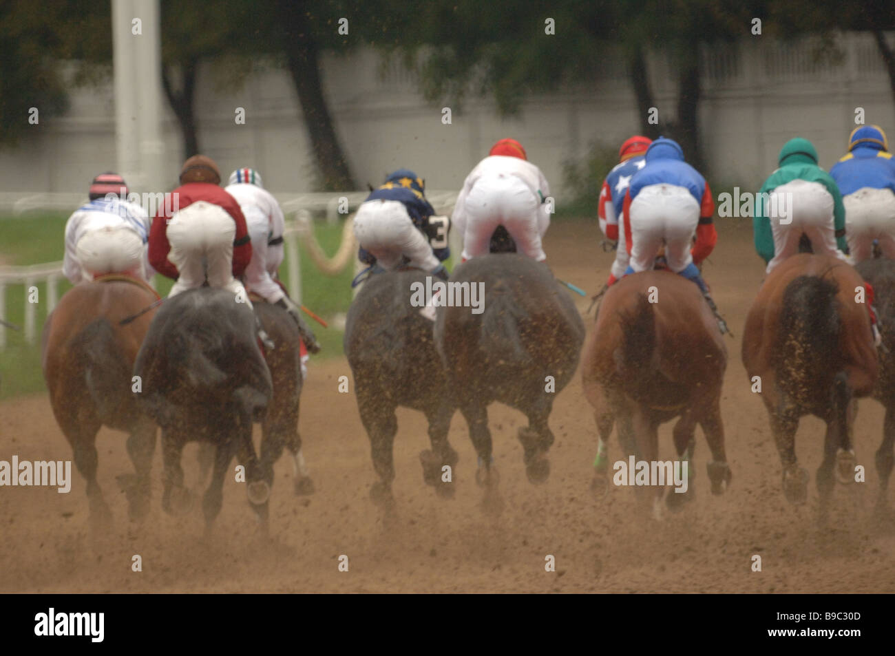 Nasibov Cup 06 on the Central Moscow Track - Stock Image