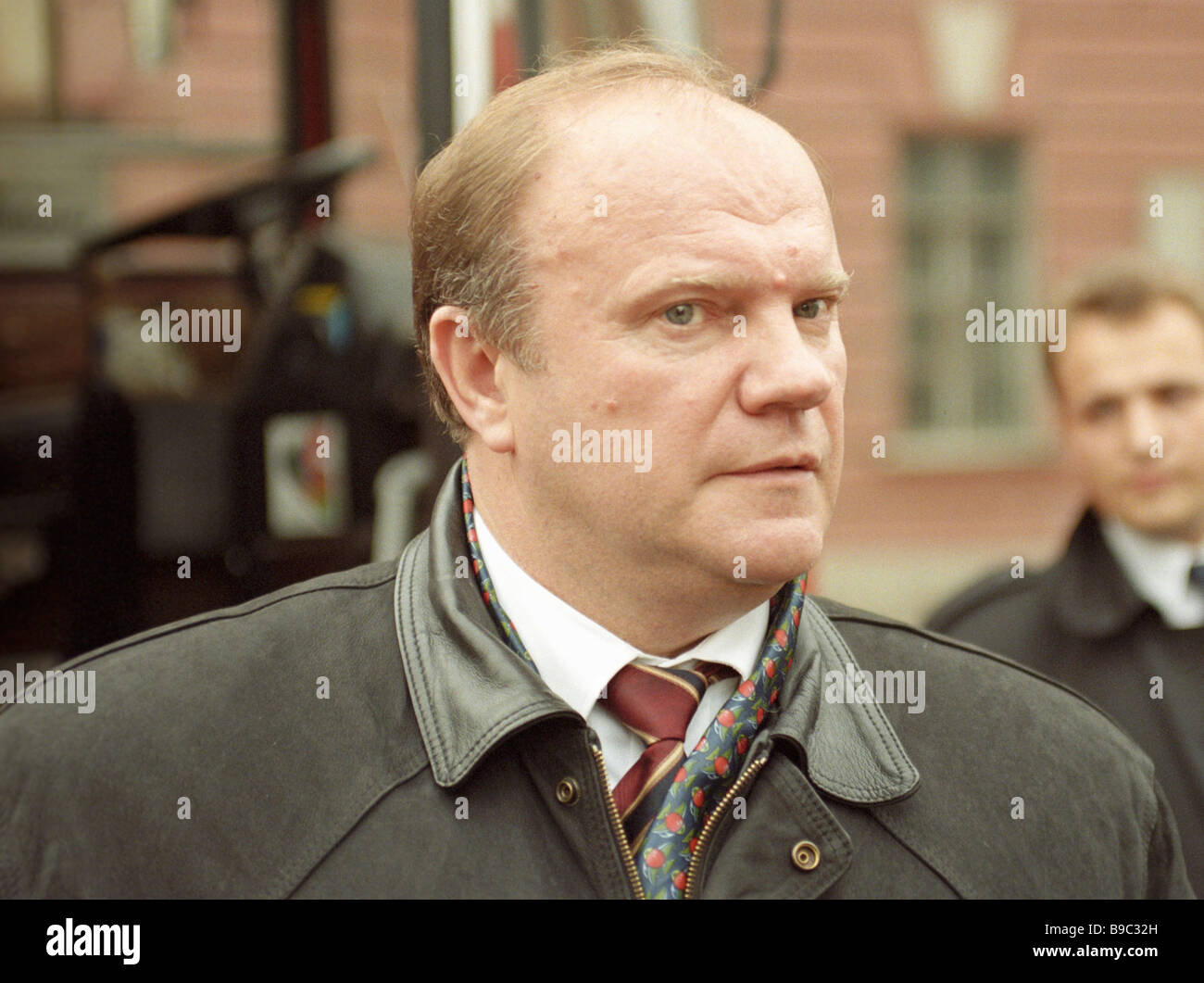 The Communists leader Gennady Zyuganov - Stock Image
