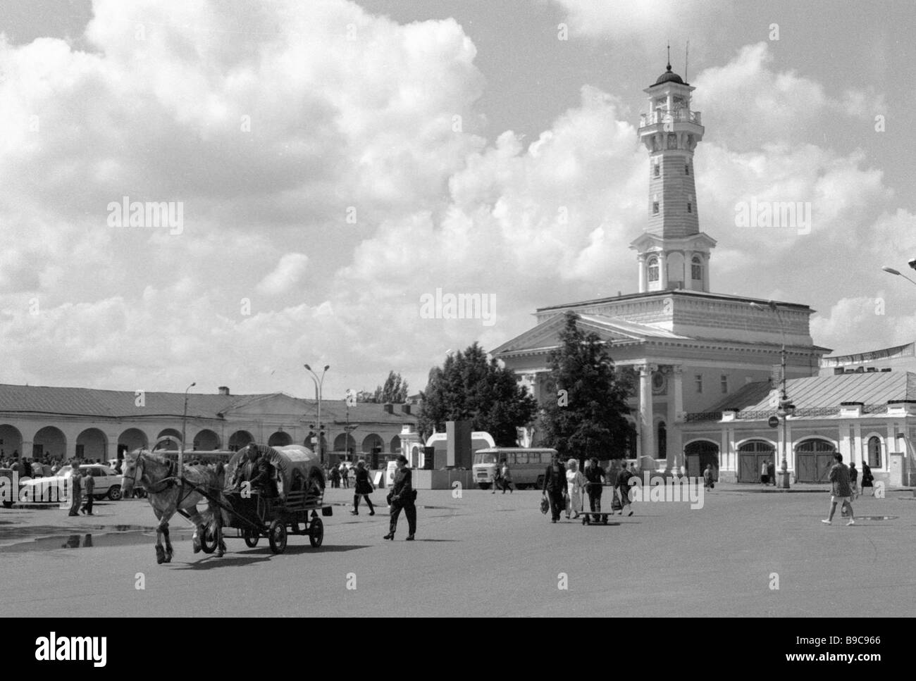 Fire tower (Kostroma): the ancient symbol of the modern city 42