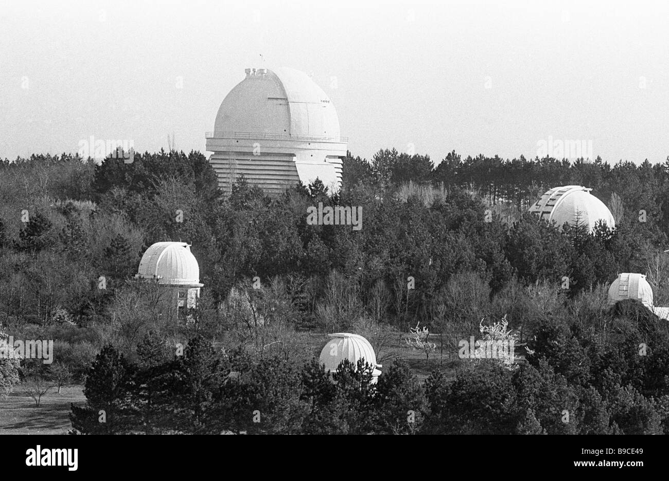 Crimean Astrophysical Observatory of the Russian Academy of Sciences - Stock Image