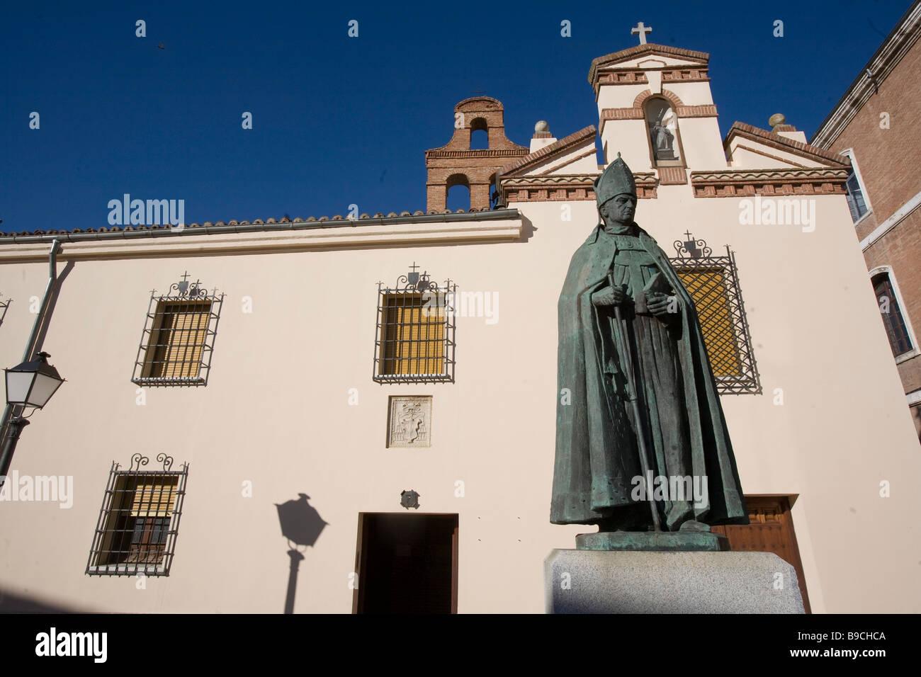 Carmelitanas convent Alcala De Henares Miguel de Cervantes born town Madrid Spain Stock Photo