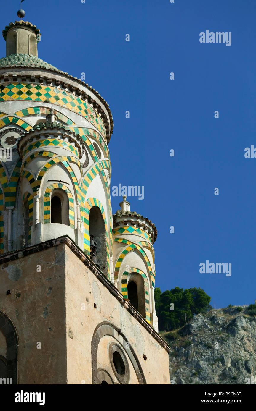 Amalfi Cathedral Amalfi Salerno Italy Stock Photo