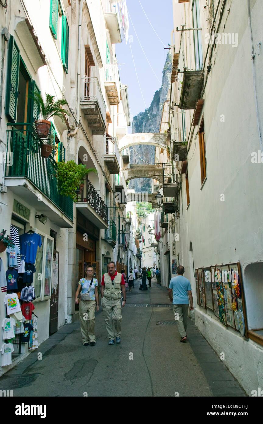 Amalfi Amalfi coast Salerno italy Stock Photo