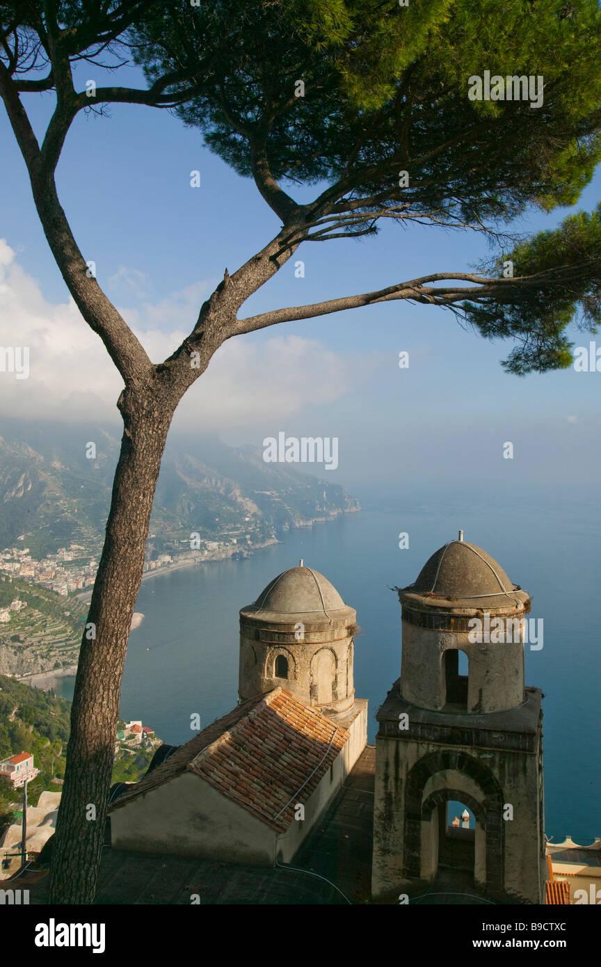 Villa Rufolo Ravello Amalfi coast Salerno Italy Stock Photo