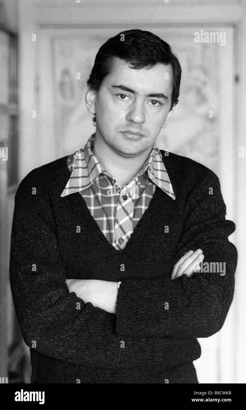 Playwright Alexei Kazantsev - Stock Image