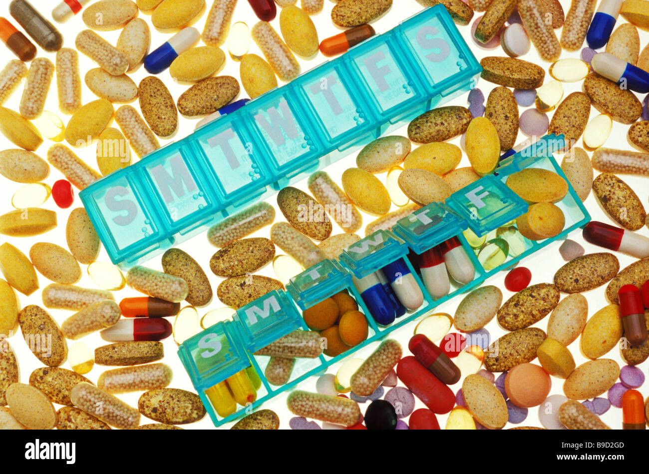 Recreational Drugs Pills Stock Photos & Recreational Drugs