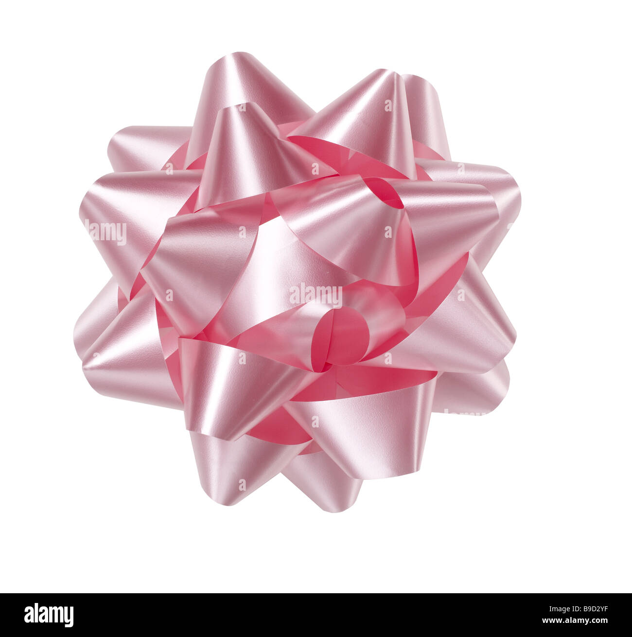 Pink Bow - Stock Image